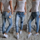 Boyfriend baggy jeans USED LOOK - vel. XS/34