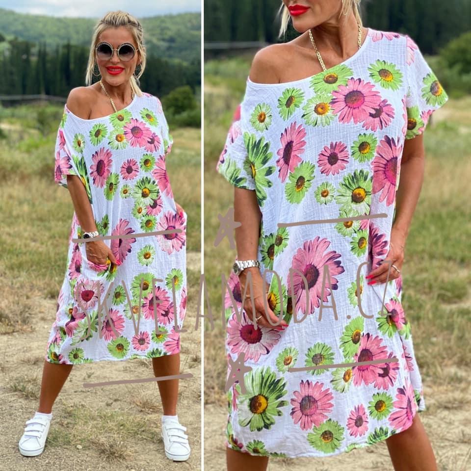 Dámské šaty FLOWERS