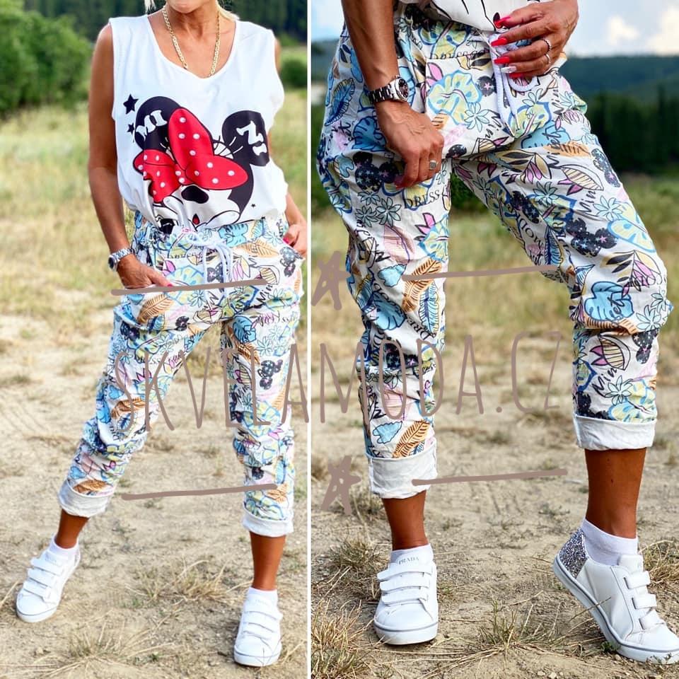 Dámské kalhoty MICKEY LISTY