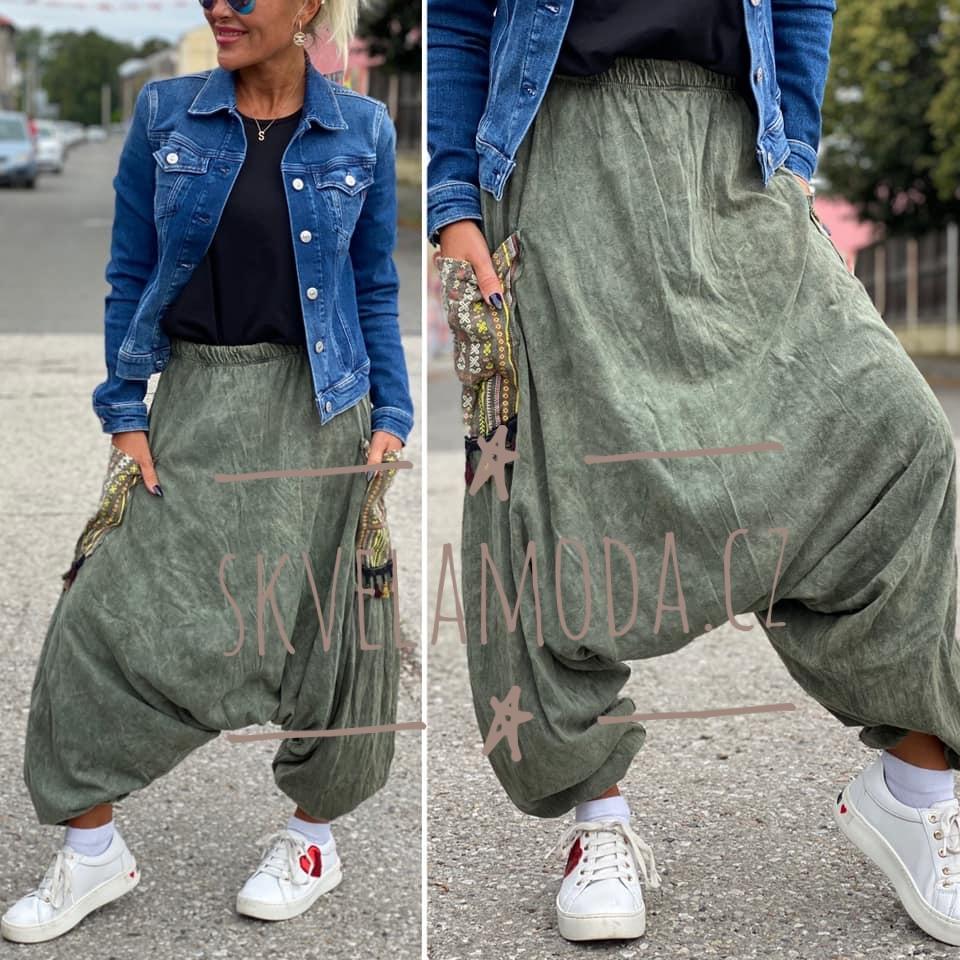 Dámské baggy teplákové kalhoty LAURA