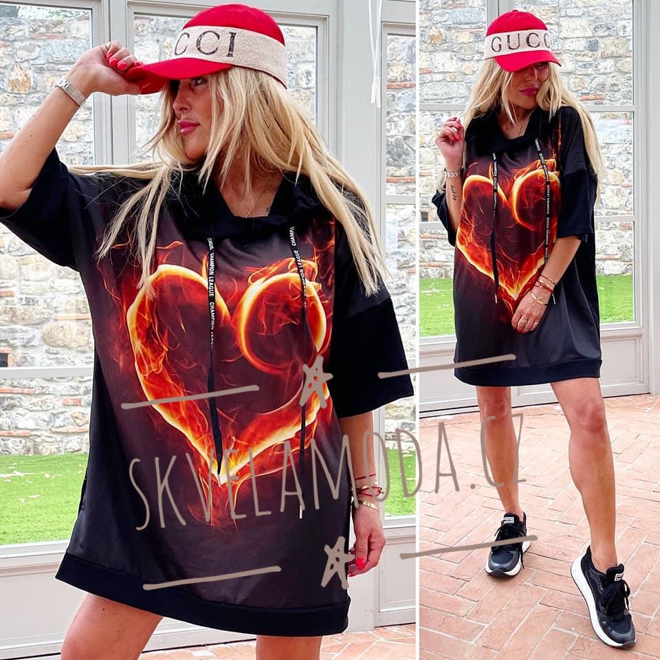 Dámská mikina FIRE HEART