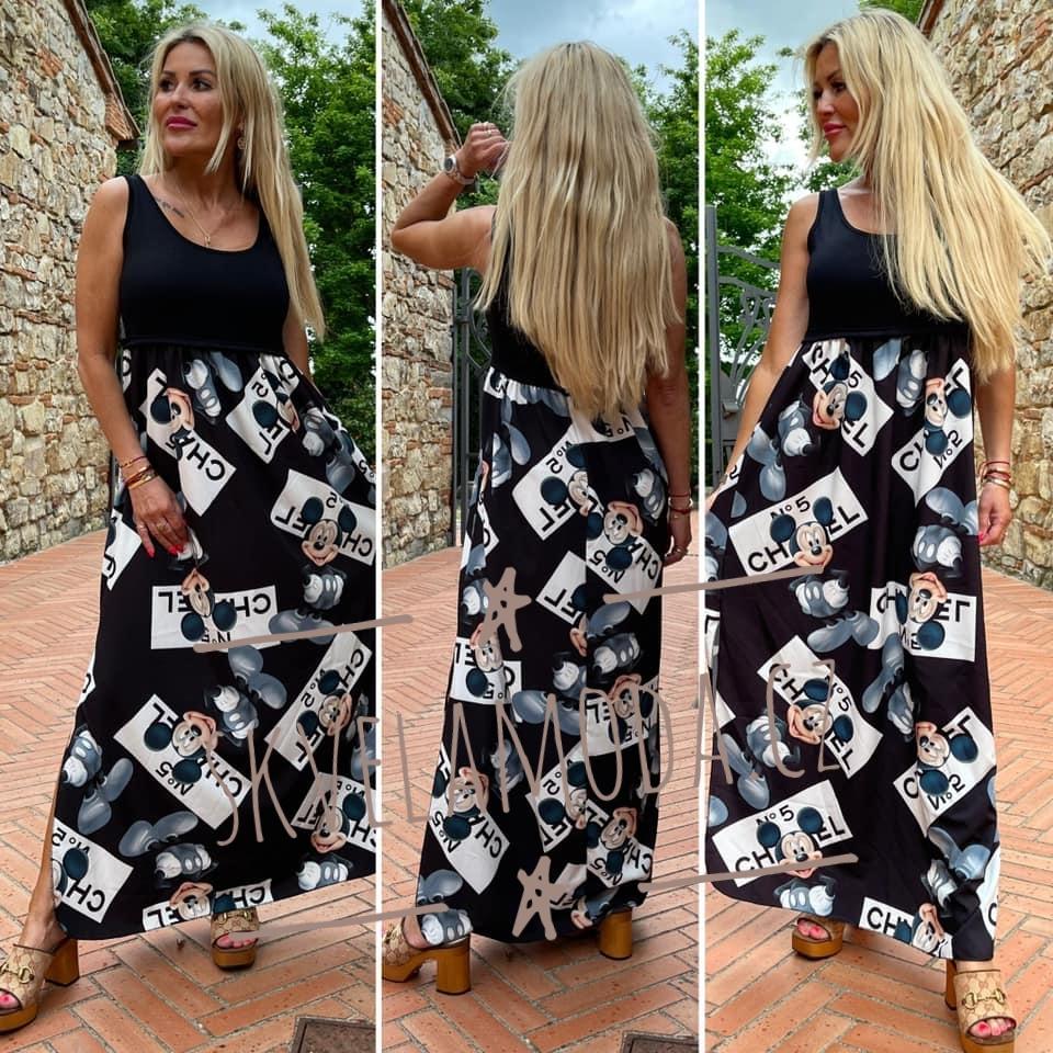 Dámské dlouhé šaty MICKEY CHANEL