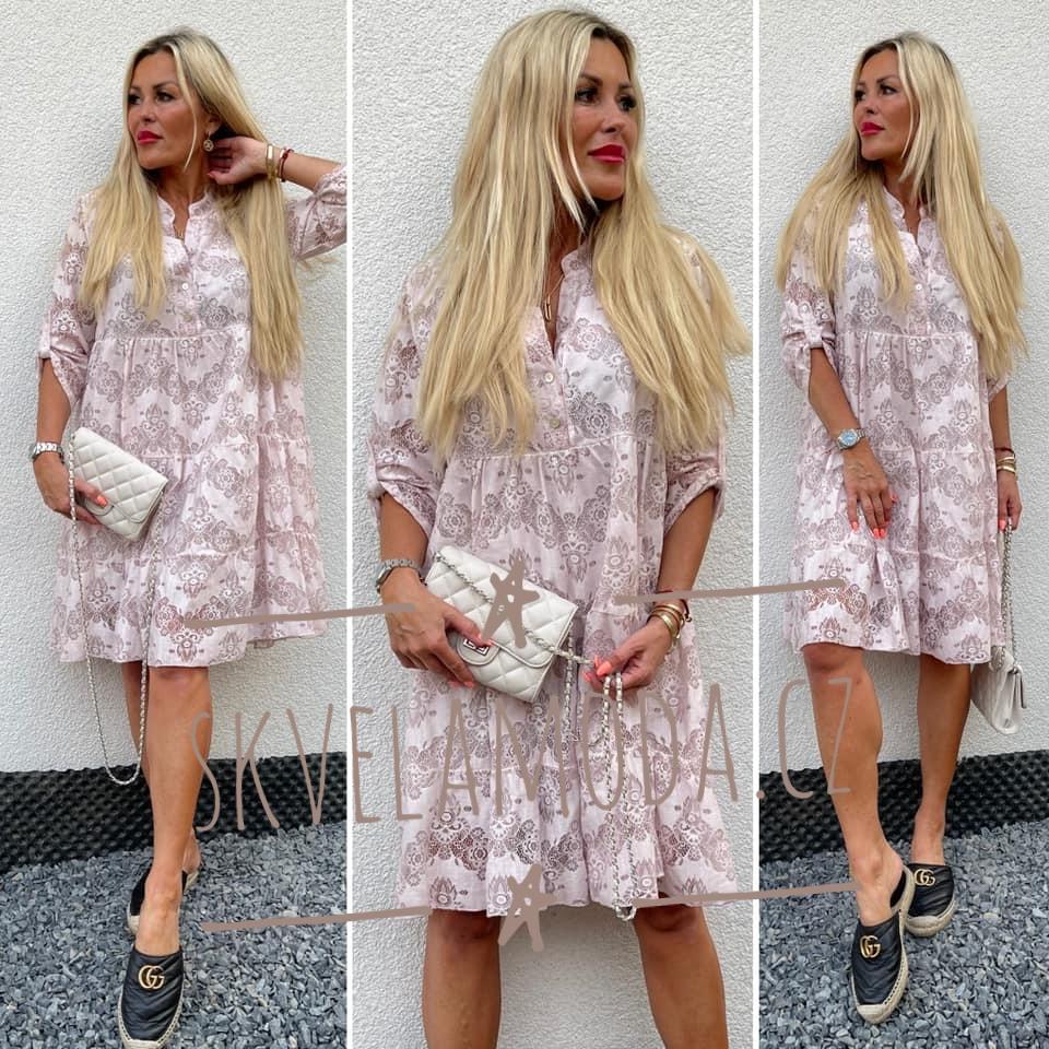 Luxusní dámské šaty BOHO