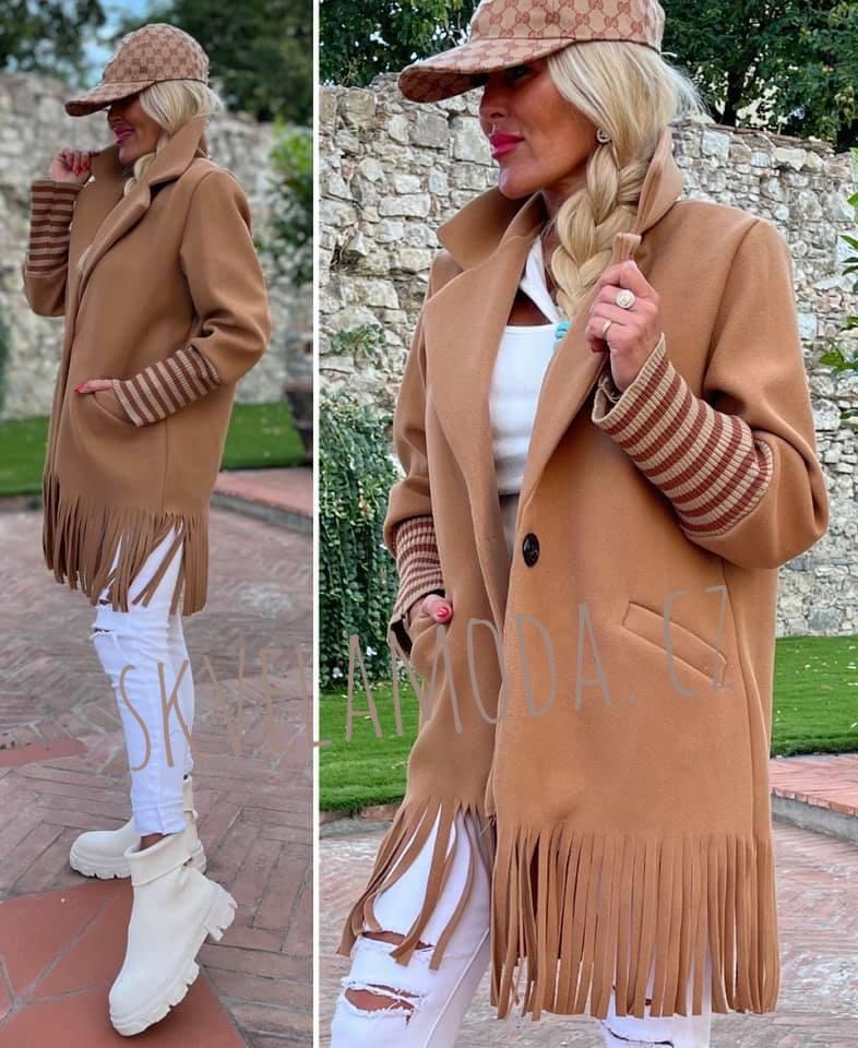 Dámský kabát TŘÁSNĚ