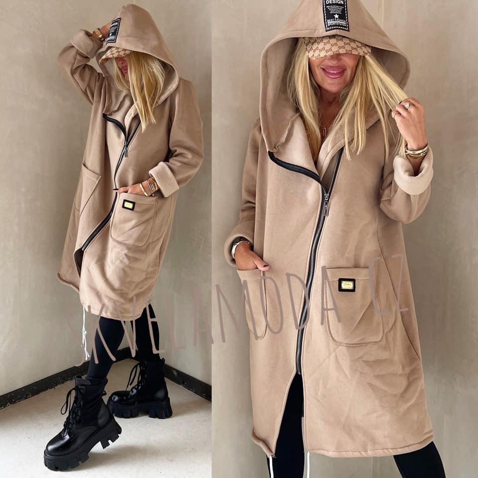 Dámská mikina - kabátek DESIGN